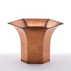 Halliston Copper Planter