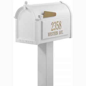 Custom Mailbox - Tall Package | Four Colors to Choose From