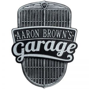 Custom Wall Mount Novelty Sign - Car Grille