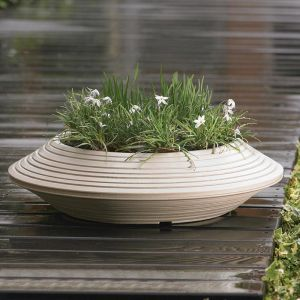 Danbury Bowl Planter - 2 Sizes and 3 Colors Available