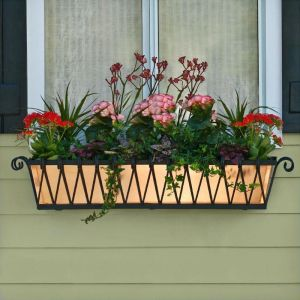 Del Mar Decora Window Boxes With Metal Liners