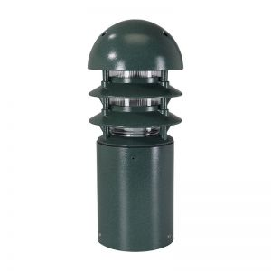 Dome Hat Line Voltage Bollard - Small -14 Colors Available