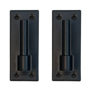 Stainless Steel Traditional Plate Mount Pintel- Pair