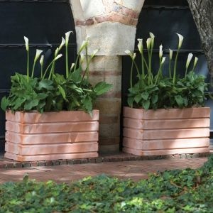 Elmhurst 48in. Rectangle Planter - Choose from 5 Colors