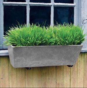 Eloquence Window Box Planter - Choose from 2 sizes and 2 colors