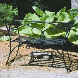 Enchanting Garden Gate Bench
