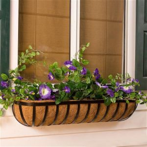 English Garden Window Boxes w/ Liner