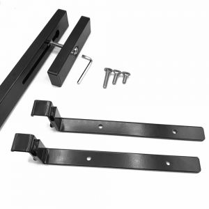 Shelf Brackets and Mounting Rail- Pair