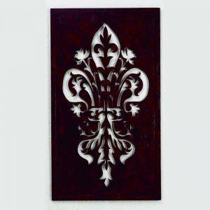 Fleur de Lis Cut Out Wall Decor