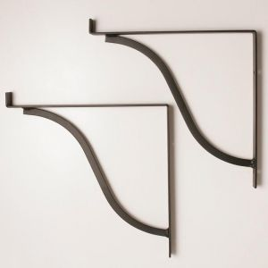 "French Shelf Bracket- 11 1/4"" Shelf  - (Pair)"