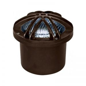 In-Ground LED Well Light with Star Grill - 2 Finish Options