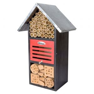 Iris Bee and Bug House with Metal Roof