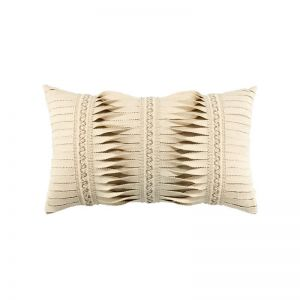 Ivory Gladiator Lumbar Throw Pillow