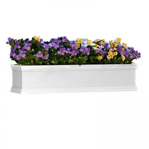 White Laguna Fiberglass Window Boxes  ON SALE!