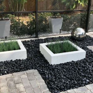 Lakepoint Low Square Planter- Choose 3 Colors