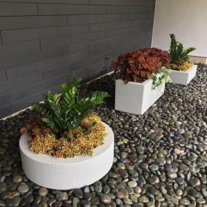 Leffingwell Low Profile Planter-Choose 3 colors