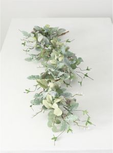 Lambs Ear Willow Thistle Garland