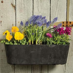 "15.5"" Naples Oval Window Box Planter"