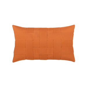 Basketweave Lumbar Pillow - 5 Colors Available