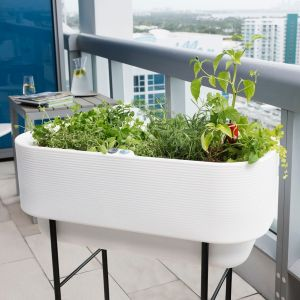 Nest Self-Watering Raised Bed Garden Planters w/ Stand Choose from 3 sizes and 6 colors