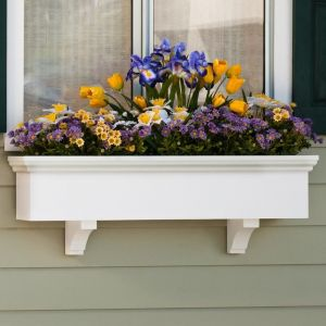 "Newport Premier Window Boxes w/ ""Easy Up"" Cleat Mounting System"