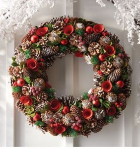 """22"""" Artificial Holiday Wreath"""
