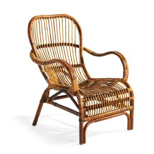 Panama Rattan Lounge Chair