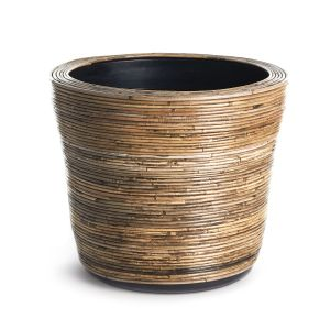 "20"" Wrapped Rattan Planter"
