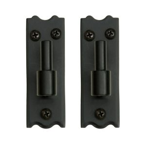 New York Style Steel Plate Mount Pintel- Pair