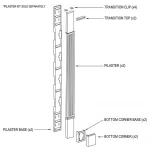Optional Channel Plate|For Door Surrounds