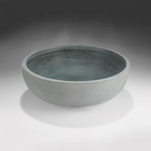 Orchard Hill 22in. Bowl Planter - Weathered Concrete