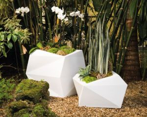 Escher Geometric Planter - Choose from 3 Colors and 2 sizes