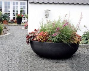 Orchard Hill 40in. Bowl Planter  - Choose from 3 Colors