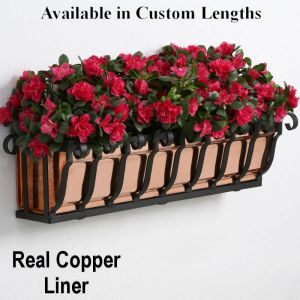 Pacific Heights Copper Window Boxes- On Sale, only a few left in stock!
