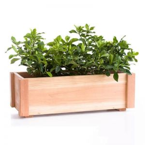 Pasadena Rustic Redwood Window Box Planters
