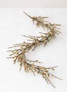 """72"""" Artificial Pussywillow Garland"""