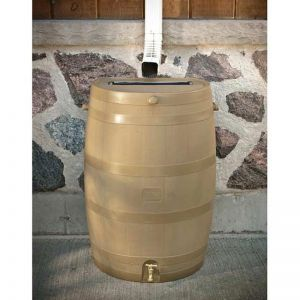Flat Backed Rain Barrel - 4 Colors