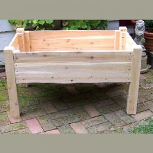Raised Garden Planter Box - 24 inches Tall