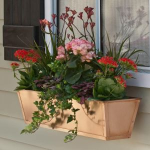 Real Copper Window Boxes/Decora Liners ON SALE!