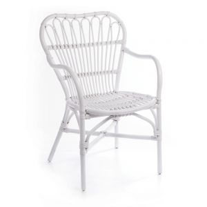 American Revival Café Chair - White
