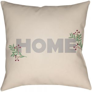 Holiday Home Outdoor Pillow
