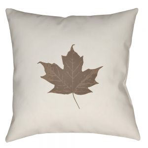 Maple Leaf Outdoor Pillow