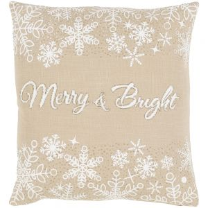 Merry and Bright Indoor Pillow