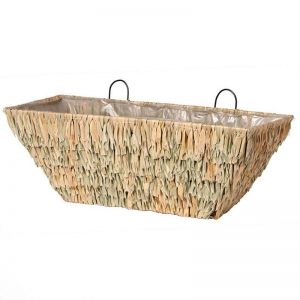 30 inch Silverglade Seagrass Tapered Window Basket