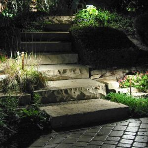 Small Standard Natural Copper Landscape Lighting Kit