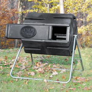 Spinning Composter with Sliding Door