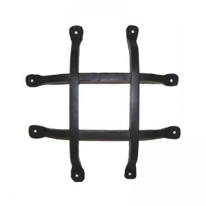 "10""L x 10""H w/ 2"" offset Square Bar Flat Tail Grille"