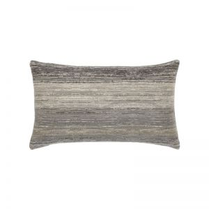 Textured Grigio Outdoor Rated Lumbar Pillow