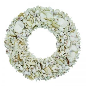 White Shell Wreath