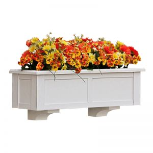 """XL Hampton Premier Window Boxes w/ """"Easy Up"""" Cleat Mounting System"""